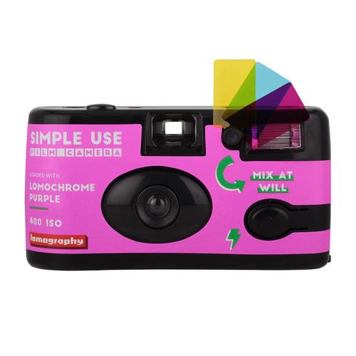 กล้องฟิล์ม LomoChrome Purple Simple Use