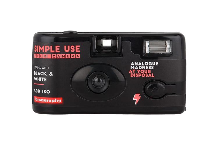 กล้องฟิล์ม Lomography Simple Use Film Camera Black and White
